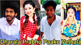 Dharala Prabhu - Paaku Vethala Song | Tamil Famous TikTok Song | Tamil Latest Trending Tik Tok Video