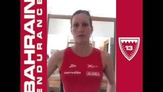 Bahrain Endurance 13 - Launch Caroline Steffen