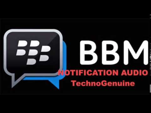 BlackBerry BBM Notification Tone 100% HD - Download Free
