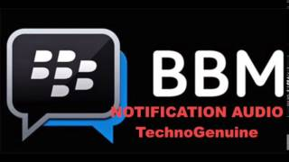 Gambar cover BlackBerry BBM Notification Tone 100% HD - Download Free