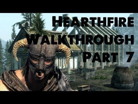 Skyrim Hearthfire Walkthrough Part 7 - Fish Hatchery?!