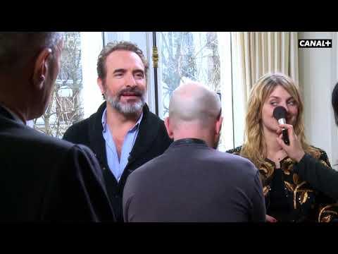 En coulisses avec Jean Dujardin et Mélanie Laurent - Interview cinéma CANAL+