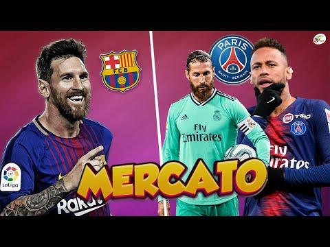 Bonne nouvelle au Barça, Messi va prolonger.. Neymar passe à l'action pour Sergio Ramos   Mercato