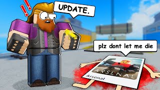 this is why arsenal is dying... (Arsenal Roblox)