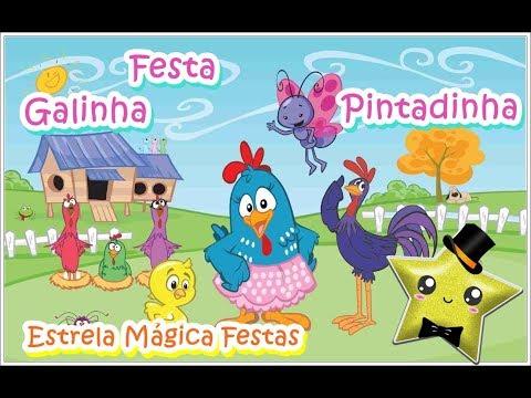 Montando Festa - Tema Galinha Pintadinha Rosa