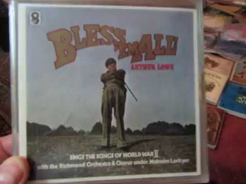 Bless 'em All - Sung by Arthur Lowe -  Rare Reel to reel tape