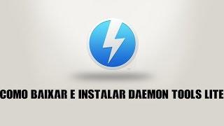 COMO BAIXAR E INSTALAR DAEMON TOOLS LITE 10.1.0.74 + SERIAL