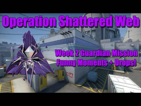 CSGO Shattered Web Guardian Mission Funny Moments! - WEEK 2 OPERATION