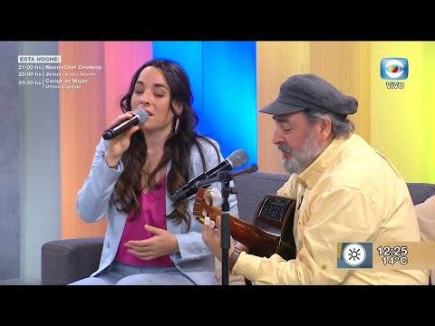 Melaní Luraschi y Eduardo Larbanois
