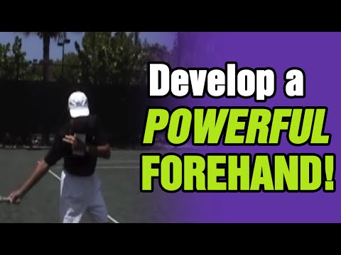 Tennis Lessons - How To Develop A Powerful Forehand | Tom Avery Tennis 239.592.5920
