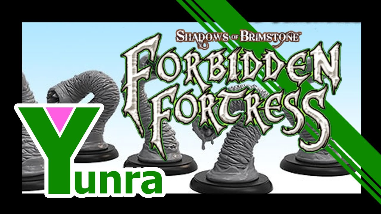 Shadows Of Brimstone - Forbidden Fortress | Unboxing
