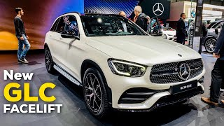 2020 MERCEDES GLC Facelift GLC 300 AMG Line NEW Review Better than BMW X3 & AUDI Q5!