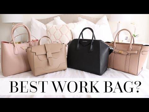 Work Bag Comparison & Review! | Prada, Senreve, Givenchy & Mulberry