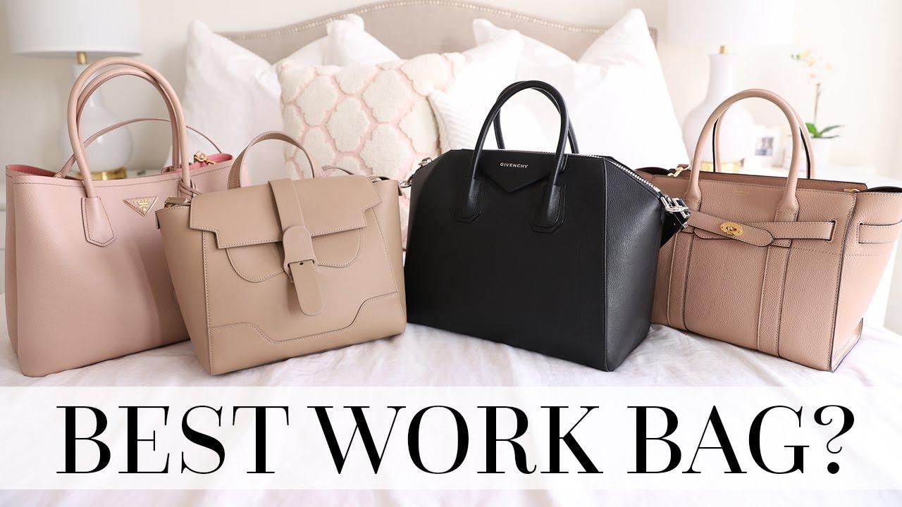 Work Bag Comparison Review Prada Senreve Givenchy Mulberry