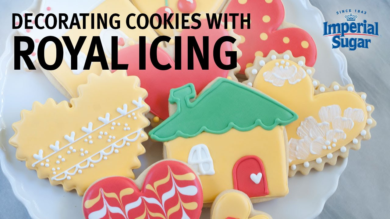 how to make plain icing for cookies