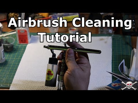 Airbrush cleaning tutorial (Deep Cleaning)