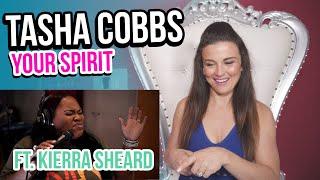 Cover images Vocal Coach Reacts to Tasha Cobbs Leonard- Your Spirit