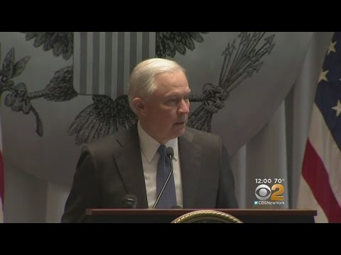 AG Sessions Talks MS-13 Gang On Long Island