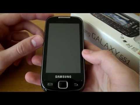 [Mobileo #7] Recenzja Samsunga Galaxy 551   Review Samsung Galaxy 551