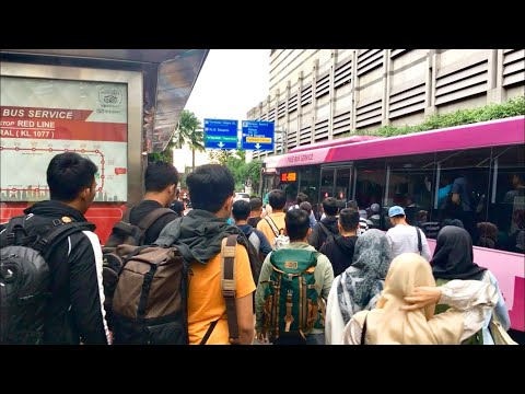 What People Do When Bus Is Free    Go Kl Free Bus KualaLumpur