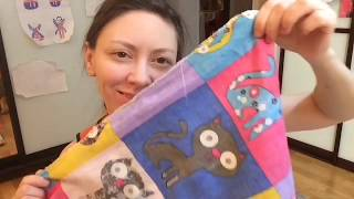 Как легко сшить одеяло - DIY - Подарок своими руками