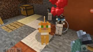 Коты-Воители в Майнкрафте. Образ игры  Minecraft. Очень интересная игра. Советую поиграть всем