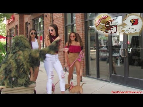 BUSHMAN PRANK AT FLORIDA STATE UNIVERSITY VS LOUISVILLE CARDINALS