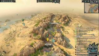 Total War Warhammer 2 - Сеттра - Стрим - [#4] - Занимаемся некрофилией