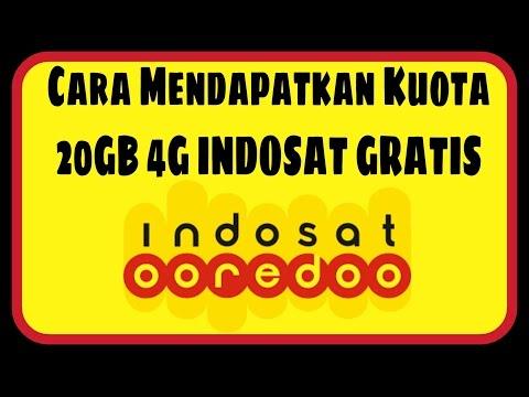 Cara Mendapatkan Kuota 20GB 4G Indosat Ooredoo