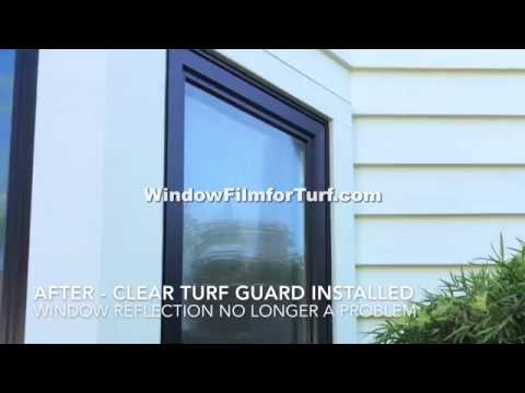 Turf Guard Window Film – Exterior Sun-Reflection Damage Protection ...