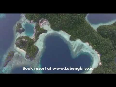 Teluk Cinta Pulau Labengki Wisata Tour Travel di Kendari Sultra