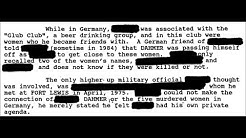 Programmed To Kill/Satanic Cover-Up Part 102 (Jeffrey Dahmer - Unanswered Questions Part 3)