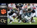 Clemson vs. Georgia Tech Condensed Game   2018 ACC Football