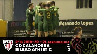 ⚽️ Resumen I J21 2ªDiv.  B I CD Calahorra 2-3 Bilbao Athletic I Laburpena
