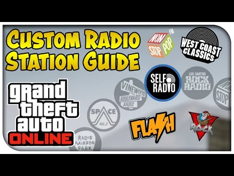 GTA 5 PC Gameplay - How To Create Custom Radio Station! (Self Radio Installation Guide) [GTA V]
