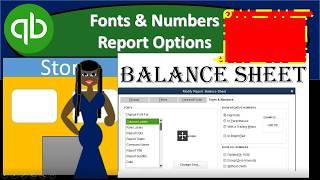 QuickBooks Pro 2019 Balance Sheet Fonts & Numbers - QuickBooks Desktop 2019