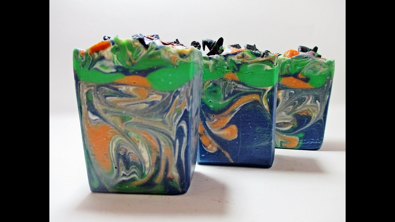 Drowning Witches Halloween Handmade Soap Making Video