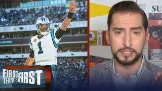 Cam Newton in New England makes sense, and I don't like it — Nick Wright | NFL | FIRST THINGS FIRST