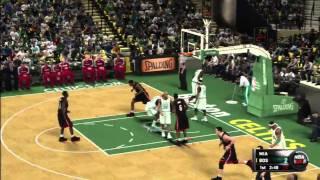 NBA 2K11 - Miami Heat vs Boston Celtics
