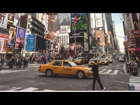 new york city 2019 times square 4k youtube. Black Bedroom Furniture Sets. Home Design Ideas