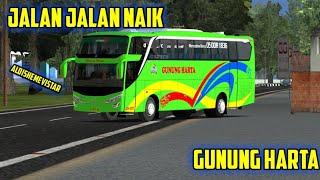 UKTS Jalan Jalan Naik Gunung Harta Bus Simulator Indonesia