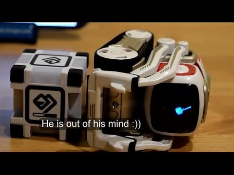 Thumbnail: Cozmo's funniest reactions! (Cozmo robot)