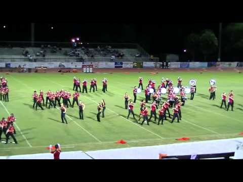 Cooper City High School MB Halftime Show - 9/5/2014