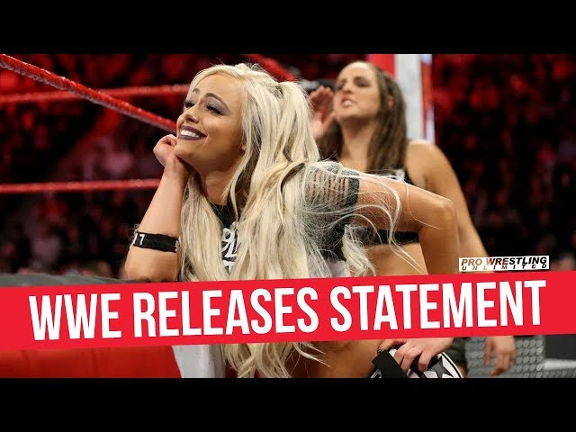 WWE Releases Statement on Liv Morgans Injury On RAW
