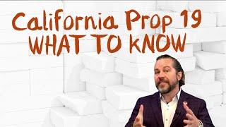 Proposition 19 is Here