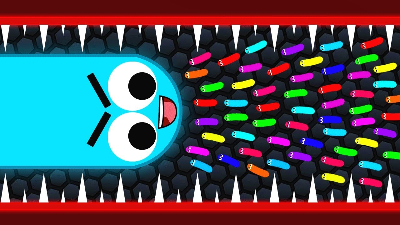 I'm a SNEAKY SNAKE in SLITHER.IO
