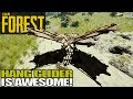 HOW TO GET THE HANG GLIDER | The Forest | Let's Play Gameplay | S15E13
