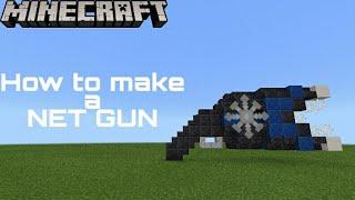 Minecraft Net Gun (Command Blocks)