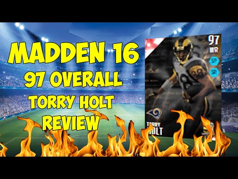 Madden 16 - 97 Overall Torry Holt Mini Review - Overlooked?