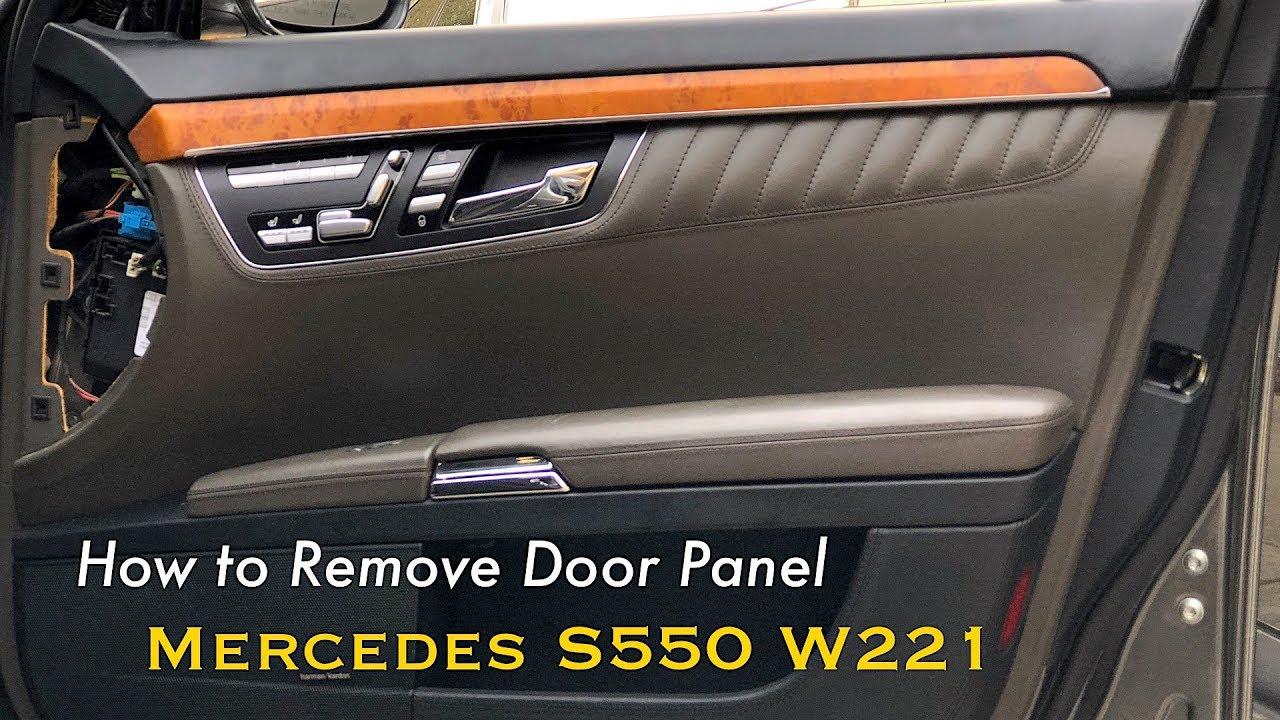 Mercedes S550 W221 Door Removal | CarMAN - YouTube  YouTube